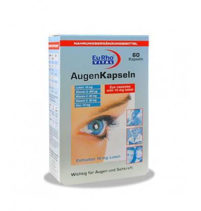 خرید آنلاین کپسول چشم اوژن یوروویتال ۶۰ عددی