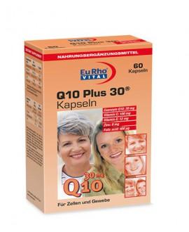 خرید آنلاین کپسول کیوتن پلاس 30 یوروویتال 60 عددی