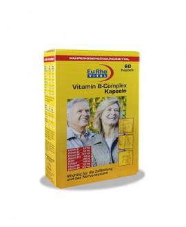 کپسول ویتامین ب کمپلکس یوروویتال 60 عددی