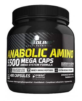 ترکیبات کپسول آنابولیک آمینو 5500 مگا کپس الیمپ
