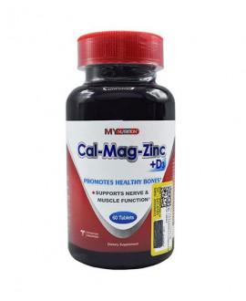 قرص کلسیم منیزیم و زینک و ویتامین D3 مای نوتریشن 60 عددی
