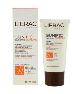خرید اینترنتی کرم ضد آفتاب سانی فیک 50 SPF لیراک 50 میلی لیتر