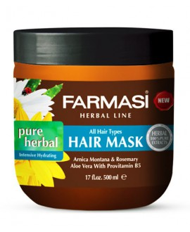 خرید اینترنتی ماسک موی هربال قوی مرطوب کننده فارماسی 500 میلی لیتر
