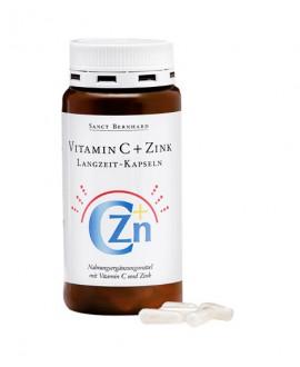 ترکیبات کپسول ویتامین ث و زینک آهسته رهش سانکت برنهارد 180 عددی
