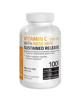 ترکیبات قرص ویتامین ث با عصاره رزهیپ برانسون 100 عددی