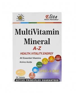 خرید اینترنتی قرص مولتی ویتامین مینرال الیت 30 عددی