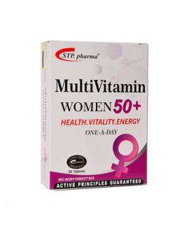 مولتی ویتامین بالای 50 سال بانوان اس تی پی فارما