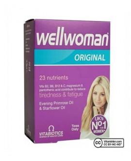 خرید اینترنتی کپسول ول ومن ویتابیوتیکس مخصوص خانم ها 30 عددی