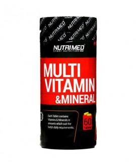 خرید اینترنتی قرص مولتی ویتامین مینرال نوتریمد 60 عددی