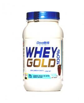 خرید اینترنتی پودر وی پروتئین گلد دوبیس 908 گرمی