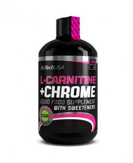 ترکیبات محلول ال کارنیتین و کروم بایوتک یو اس ای 500 میلی لیتر