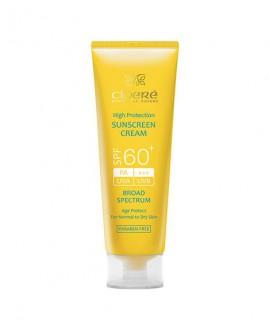 کرم ضد آفتاب +SPF60 سینره (فاقد چربی) 50 میلی لیتر
