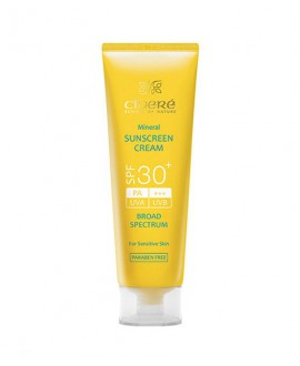 کرم ضد آفتاب +SPF30 سینره (فاقد چربی) 50 میلی لیتر