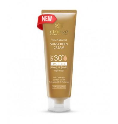 خرید کرم ضد آفتاب رنگی +30 SPF سینره