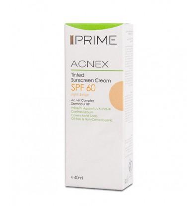 خرید آنلاین کرم ضد آفتاب بژ روشن آکنس SPF60 پریم
