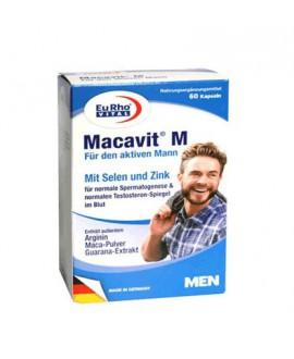 خرید اینترنتی ماکاویت M مخصوص آقایان یوروویتال 60 عددی