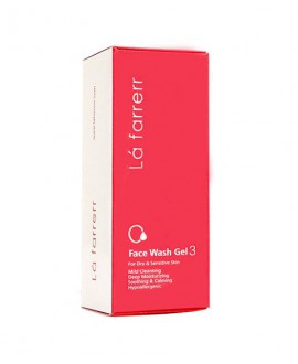 ژل شستشوی صورت مخصوص پوست خشک و حساس 3 لافارر 150میلی لیتر