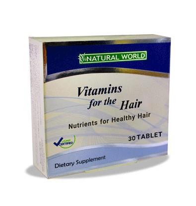 خرید آنلاین ویتامینز فور هیر 30 عددی