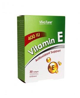 سافت ژل ویتامین ای 400 ویواتون 30 عددی