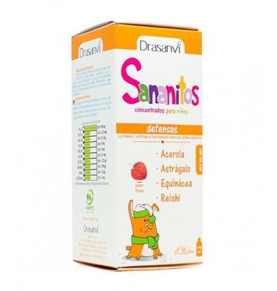 خرید اینترنتی شربت سیستم ایمنی کودکان سانانیتوس دراسانوی 130 میلی لیتر