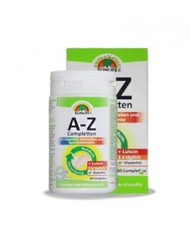 خرید اینترنتی مولتی ویتامین a-z سان لایف 60 عددی