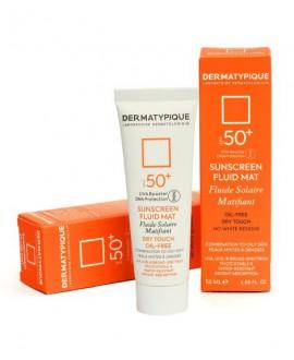 فلوئید ضد آفتاب بدون رنگ مناسب پوست چرب SPF50 درماتیپیک 50 میلی لیتر