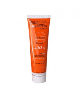 کرم ضد آفتاب رنگی SPF63 دکتر ژیلا 50 میلی لیتر