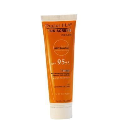 خرید اینترنتی کرم ضد آفتاب +SPF95 دکتر ژیلا 50 میلی لیتر