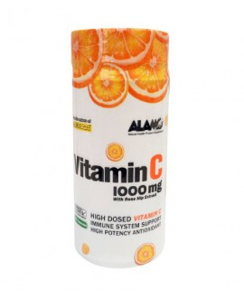 سفارش اینترنتی ویتامین C 1000 همراه با عصاره رز هیپ آلامو