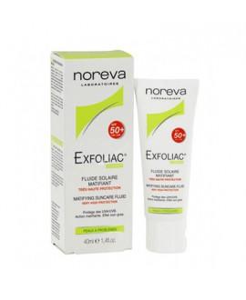 خرید اینترنتی فلوئید ضد آفتاب ⁺SPF50 اکسفولیاک نوروا 40 میلی لیتر