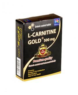 قرص ال کارنیتین گلد 500 میلی گرم مولتی نرمال 30 عددی