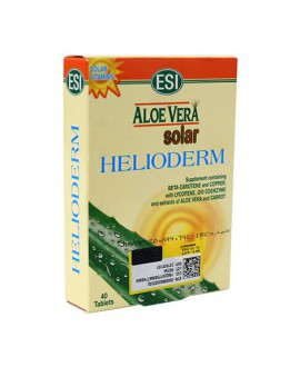 خرید اینترنتی قرص آلوئه ورا سولار هلیودرم اسی 40 عددی
