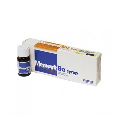 خرید اینترنتی محلول خوراکی ممویت B12 آ اسکولاپیوس 6 ویال