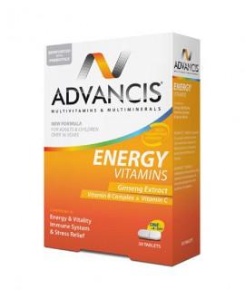 خرید اینترنتی قرص انرژی ویتامینز ادونسیس 30 عددی