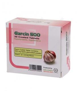خرید اینترنتی قرص گارسین 500 میلی گرم گل دارو 30 عددی
