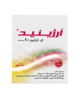 خرید اینترنتی ساشه آرژینید سپید طب 10 عددی