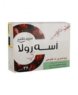 خرید اینترنتی قرص ویتامین C آسه رولا سپید طب 36 عددی