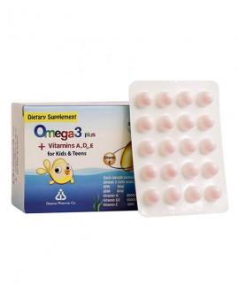 خرید آنلاین کپسول ژلاتینی امگا 3 پلاس دانا مناسب کودکان و نوجوانان 100 عددی