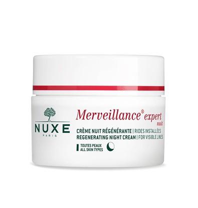 خرید اینترنتی کرم شب مغذی ضد چروک نوکس مدل Merveillance Expert حجم 50 میلی لیتر