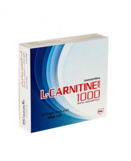 خرید اینترنتی ویال ال کارنیتین 1000 بی اس کی 10 عددی