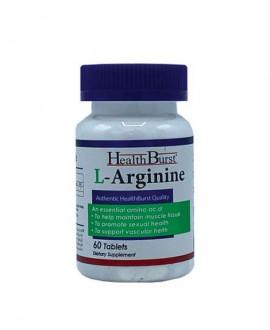 ترکیبات قرص ال آرژنین هلث برست 60 عددی
