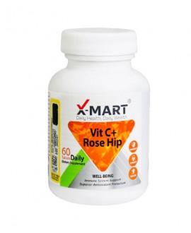خرید اینترنتی قرص ویتامین سی پلاس رزهیپ ایکس مارت