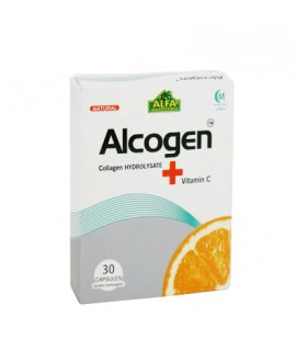 کپسول آلکوژن با ویتامین C آلفا ویتامینز 30 عددی