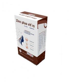 خرید اینترنتی سافت ژل زینک پلاس ویت 15 میلی گرم جالینوس