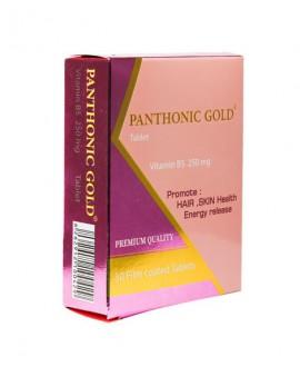خرید اینترنتی قرص پانتونیک گلد 250 و ویتامین ب5 شهاب درمان 30 عددی