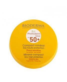 خرید اینترنتی کرم پودر ضد آفتاب فتودرم مکس کامپکت ⁺SPF50 بایودرما 10 گرم