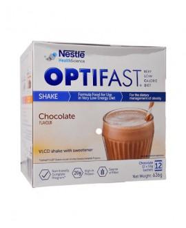 خرید اینترنتی پودر اپتی فست شیک نستله 12 ساشه شکلاتی
