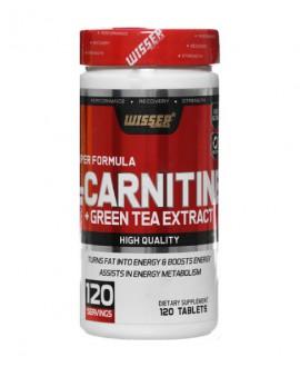 خرید اینترنتی قرص ال کارنتین به همراه عصاره چای سبز ویثر نوتریشن