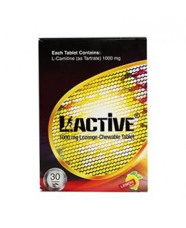 خرید اینترنتی قرص ال - اکتیو 1000 میلی گرم عسل دارو کیش 30 عددی