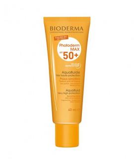 خرید اینترنتی فلوئید ضد آفتاب فتودرم مکس آکوا ⁺SPF50 بایودرما 40 میلی لیتر